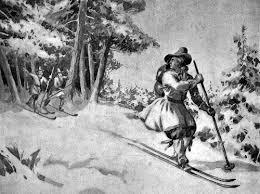 Gustav I escapes the Danes