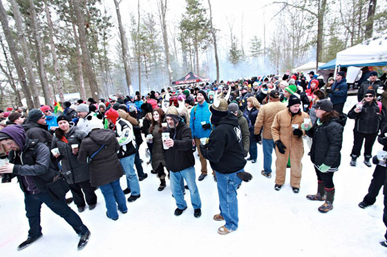 Event goers enjoy beers and fun at Suds & Snow 2013