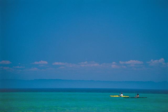 Kayaking on Grand Traverse Bay
