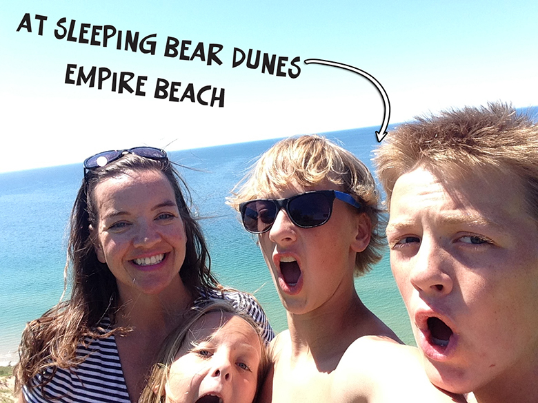 Sleeping Bear Dunes Empire