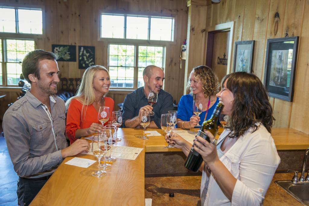 Tasting an Award-Winning Cabernet Franc at 45 North Winery