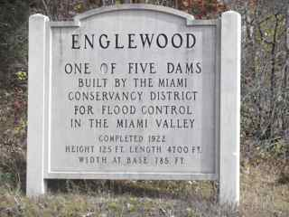 Englewood Dam Sign