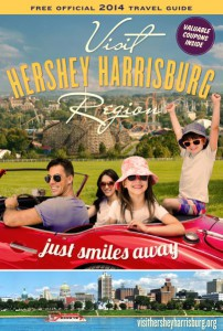 Free Hershey Harrisburg Region Travel Guide with Coupons