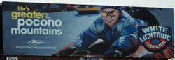 14/15 Billboard White Lighting - Small