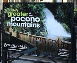 SS14 - Platform Poster - Bushkill Falls (small)