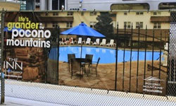 Spring/Summer 2014 Co-Op- Fence Banner - Pocono Manor - small