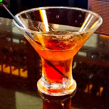 Housemade Manhattan at Nico Kitchen + Bar