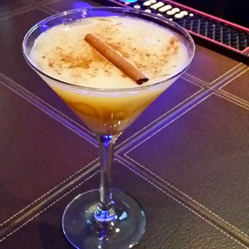 Creme Brulee Martini at Manu's Sushi Lounge