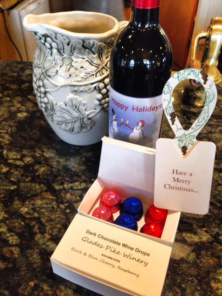 Wine Drops from Glades Pike Winery