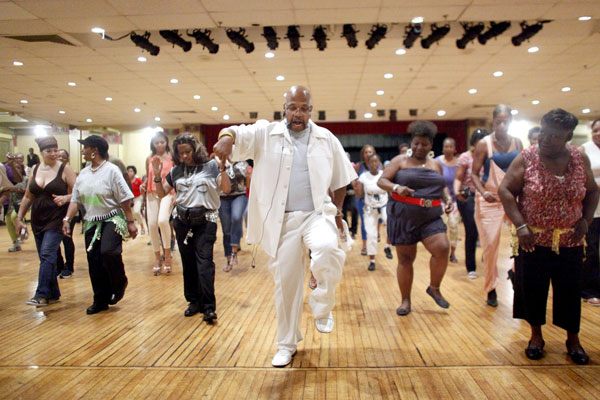 Newark Line Dancing and Double Dutch
