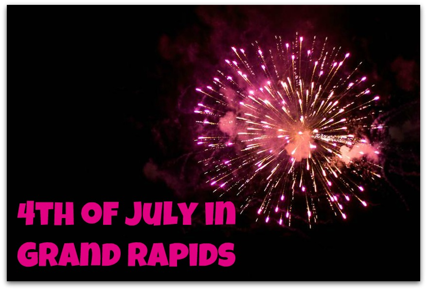 4th of July Fireworks Spectacle in Grand Rapids