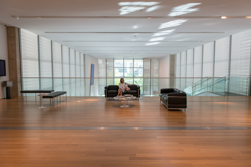 Grand Rapids Art Museum Lobby photo by Jeff Denapoli