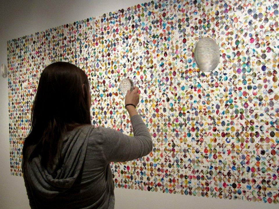 Katie Swanson at ArtPrize 2011