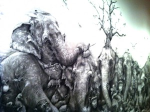 Elephants by Adonna Khare