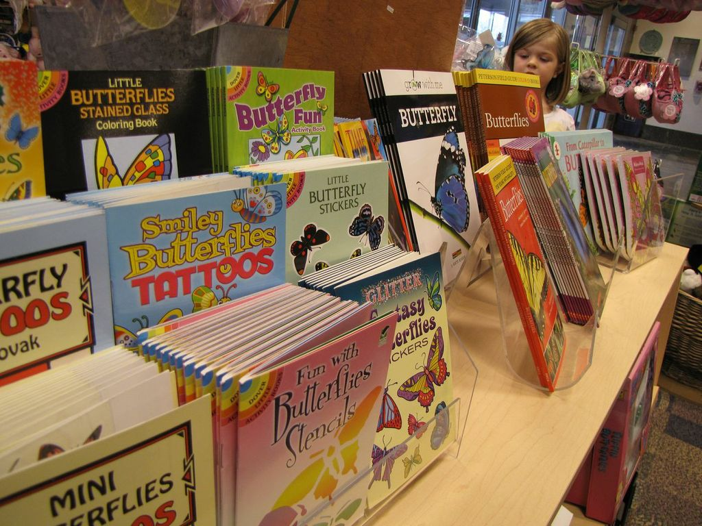 Meijer Gardens Gift Shop- Books About Butterflies