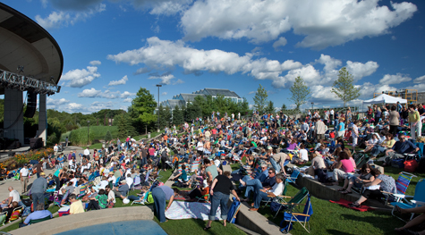 meijer gardens amphitheater in grand rapids