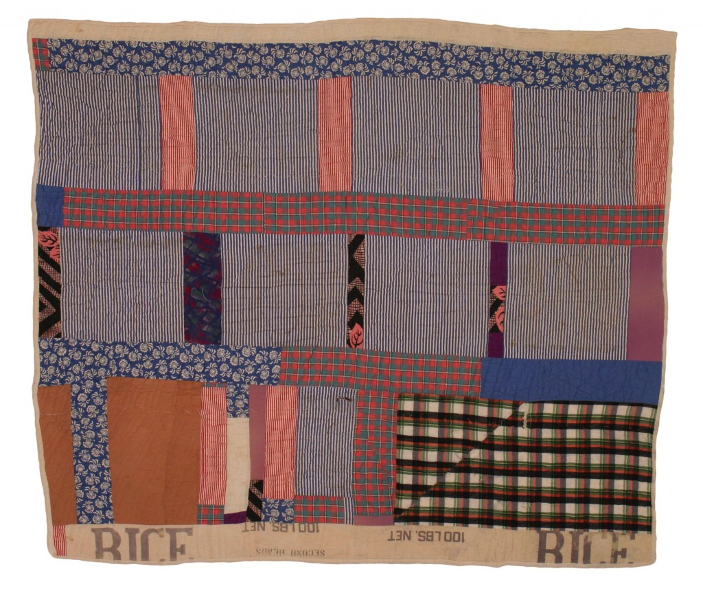 Quilt by Susana Allen Hunter on loan to the Grand Rapids Art Museum