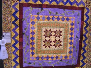 AQS Grand Rapids, quilt by Betsy Carlson, West Michigan Quilters' Guild Member
