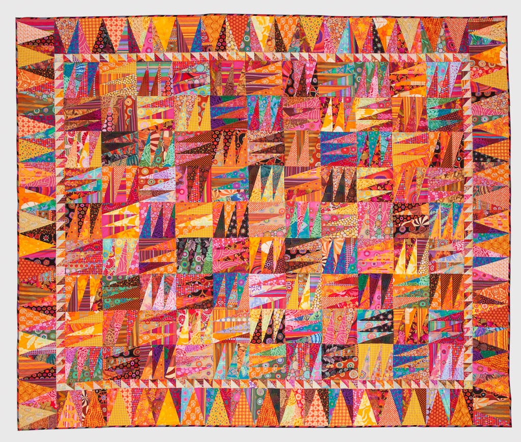 quilt by Jan Lewis, member West Michigan Quilters Guild