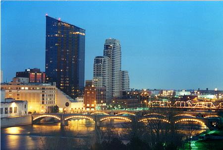 Grand Rapids, MI Skyline Photo