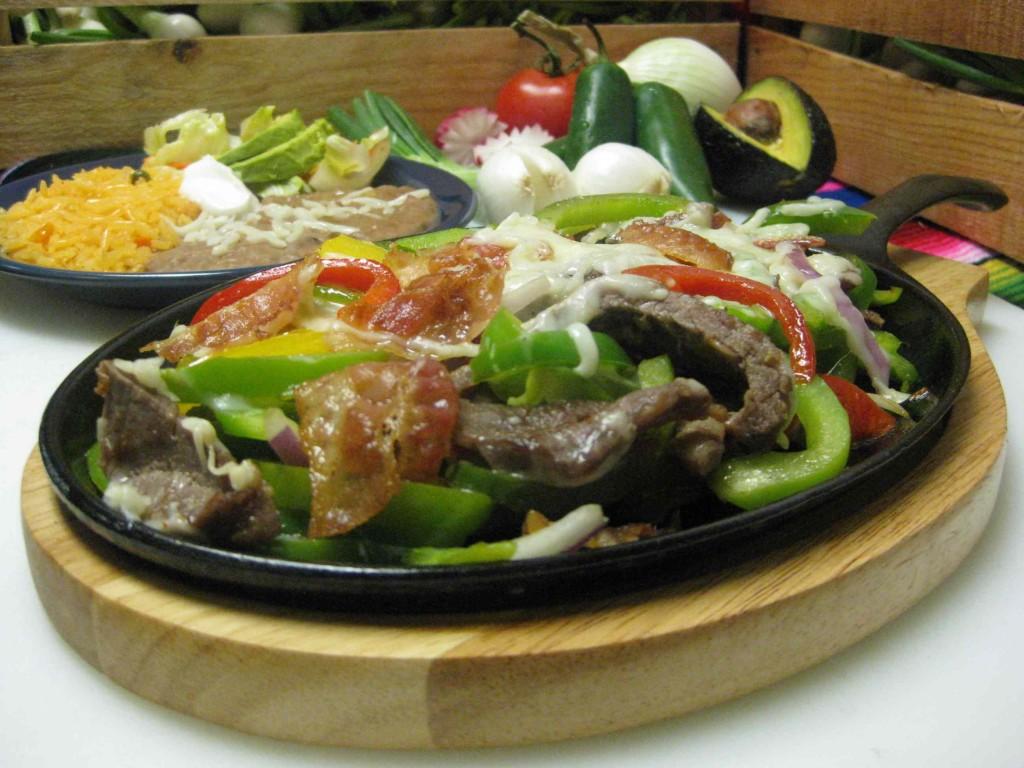 the Alambre Especial at El Granjero Mexican Grill in Grand Rapids