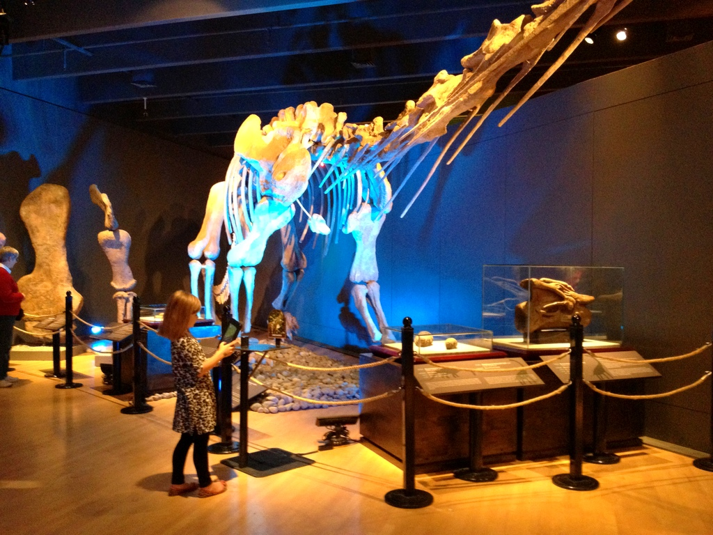 iPad Enhance the Experience at the Dinosaurs Unearthed Exhibit