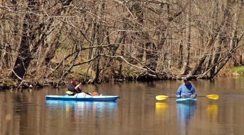 Canoers on Rogue River