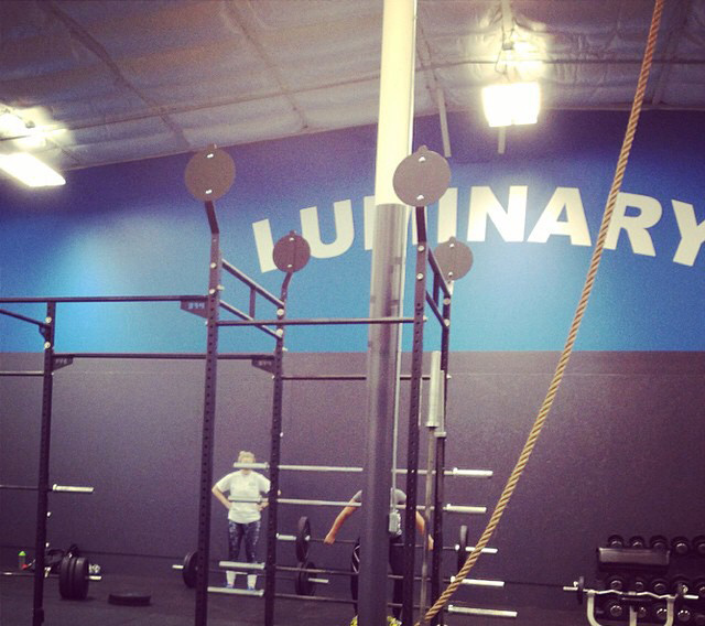 Photo courtesy of CrossFit Luminary