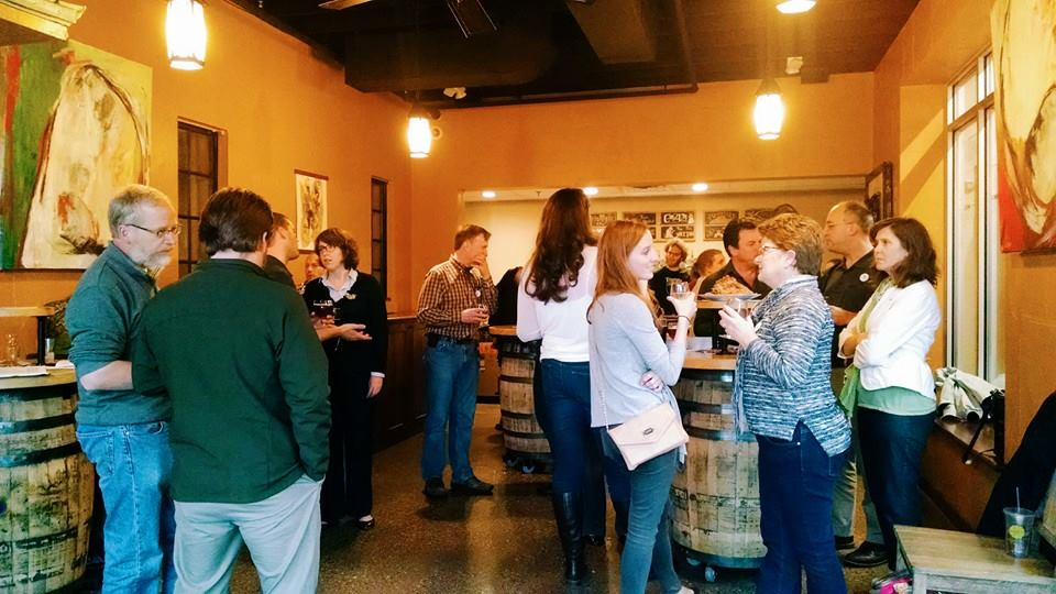 Green Drinks meet-up at Brewery Vivant in Grand Rapids, MI
