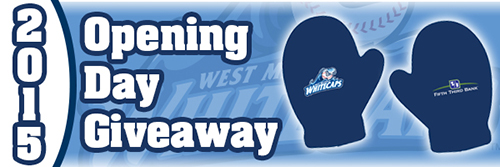 West Michigan Whitecaps 2015 Opening Day Giveaway image