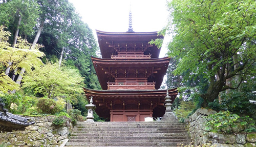 Chomeiji Temple in Japan