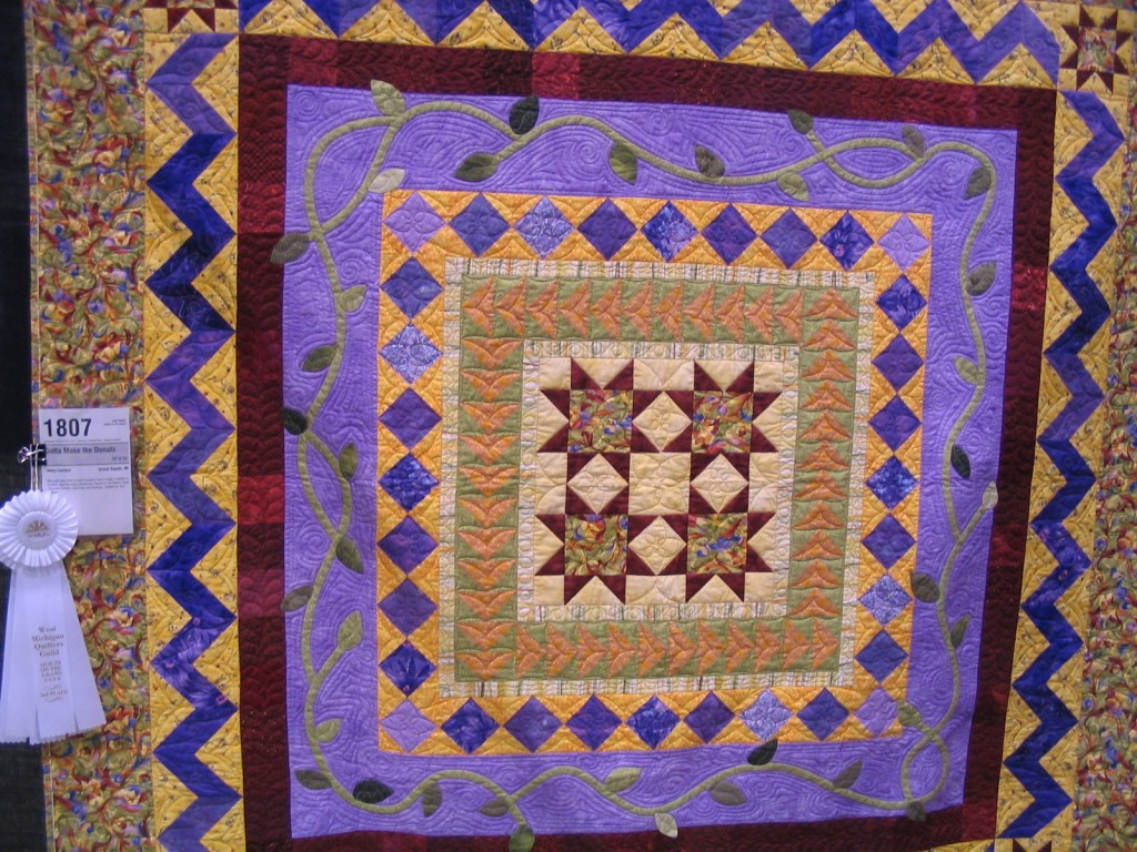 Betsy Carlson, Quilter