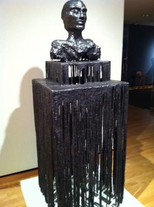 Untitled Blind Bust by Diana Al-Hadid