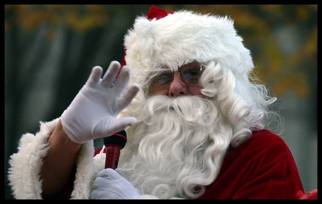 Santa at Grand Rapids Holiday Parades