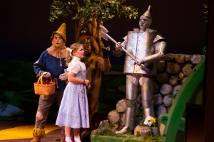 The Wizard of Oz Scene from the Grand Rapids Civic Theatre