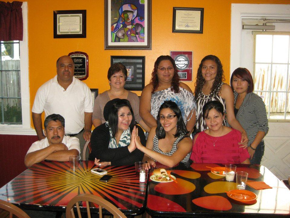 El Granjero Mexican Grill 5th Anniversary Staff Photo