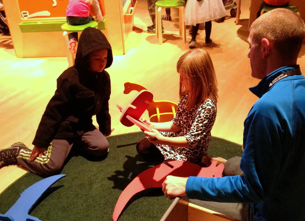 Kids Playing at the GR Public Museum