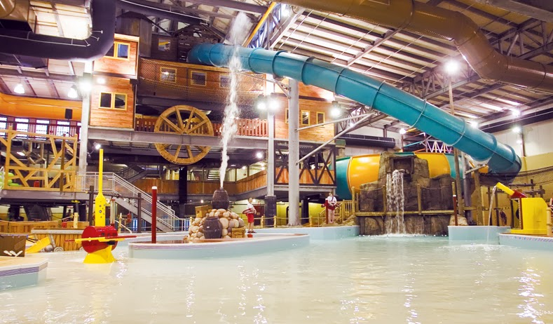 Gold Rush Water Park at Double JJ Resort in Grand Rapids, MI