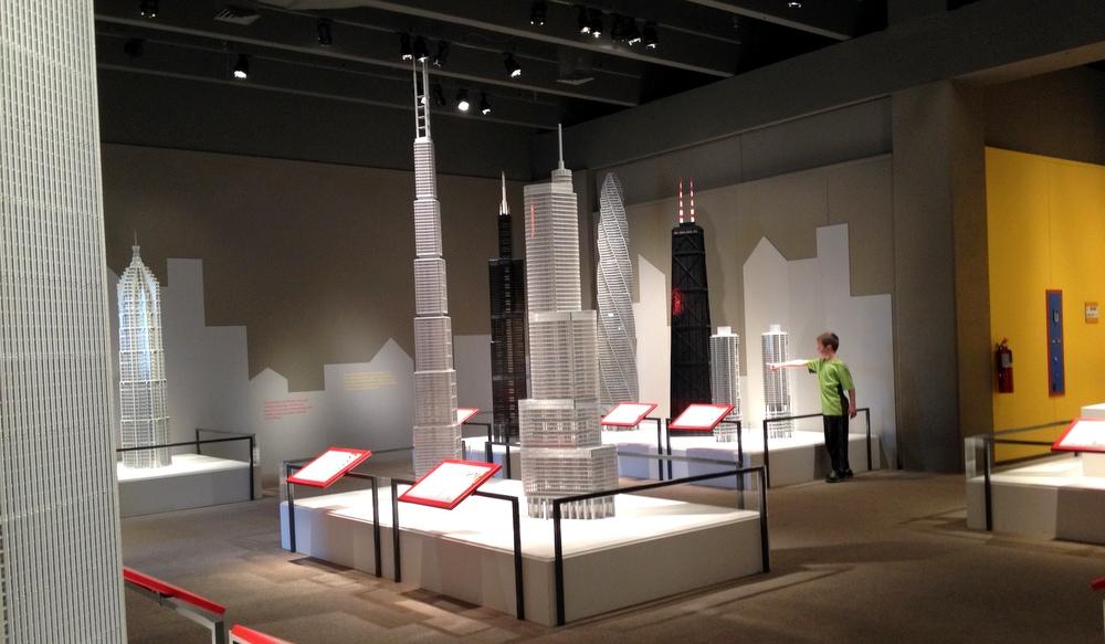 LEGO exhibit