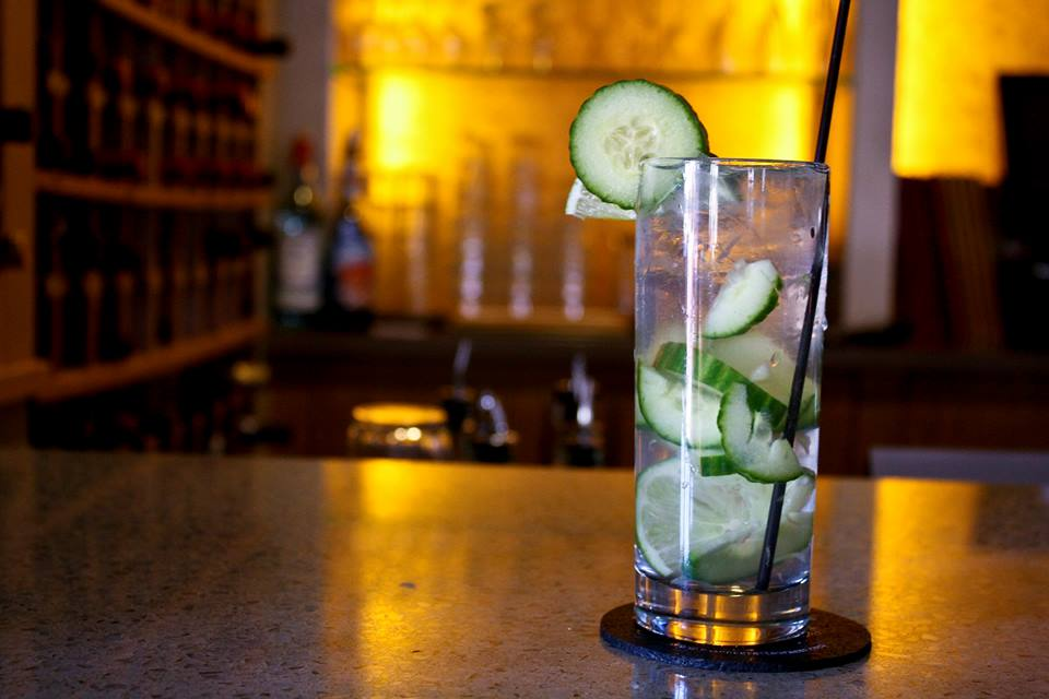 Cucumber Cooler Cocktail at Grove