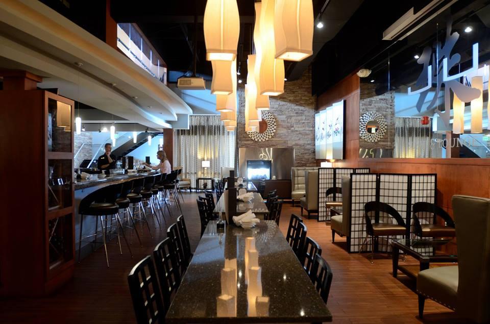 Inside  JU Sushi & Lounge in Grand Rapids