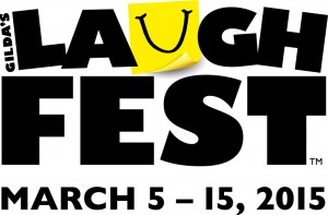 LaughFest logo for 2015