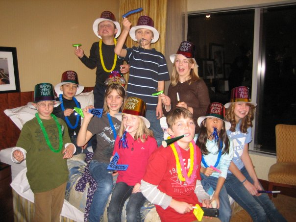 Grand Rapids kids enjoying the New Year celebrations