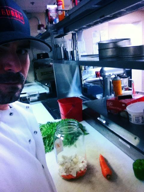 Chris Weimer, Head Chef, Brewery Vivant