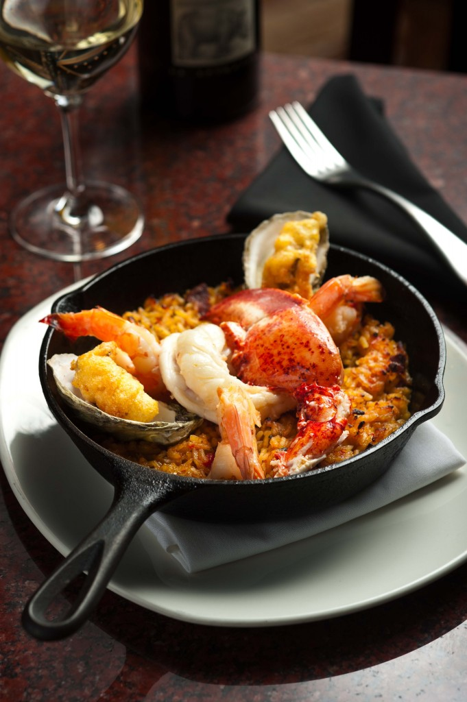 Paella From Reds on the River