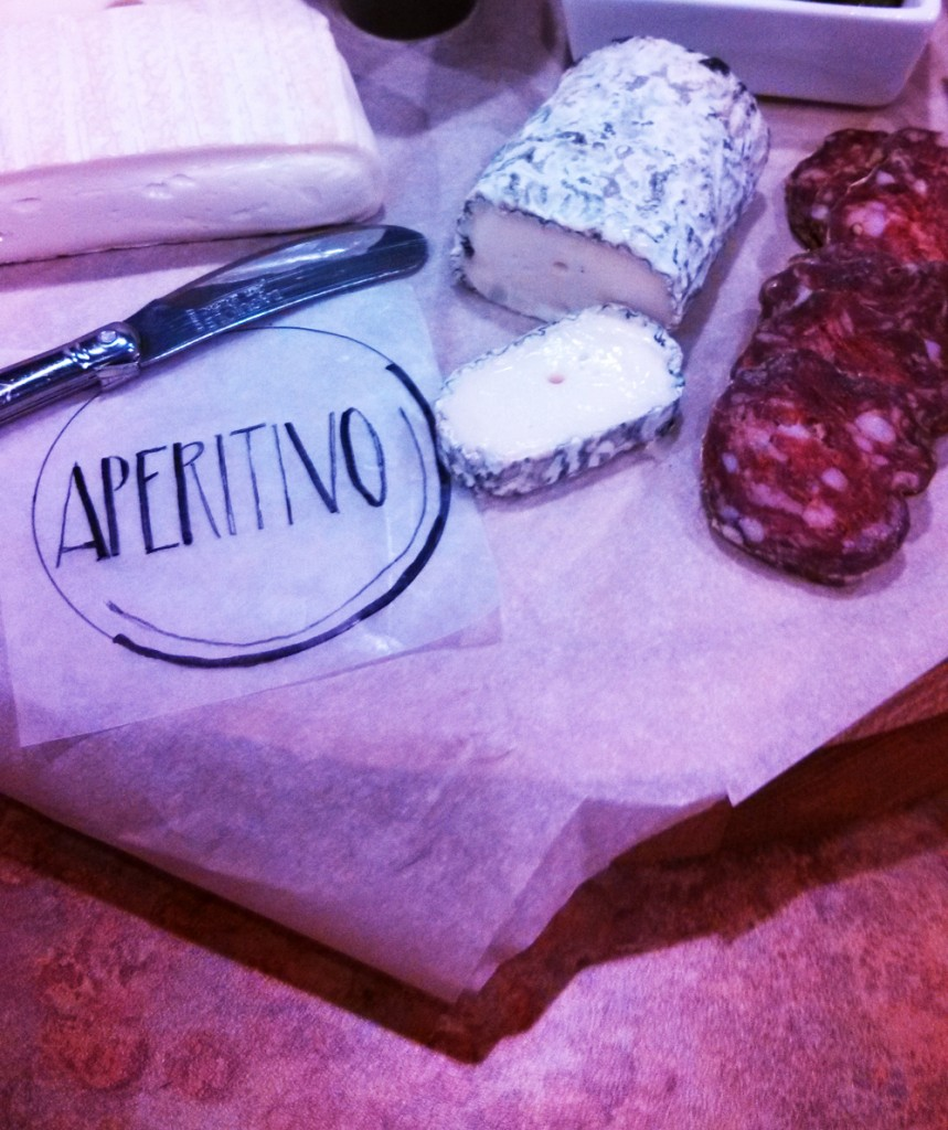Food selection from Aperitivo
