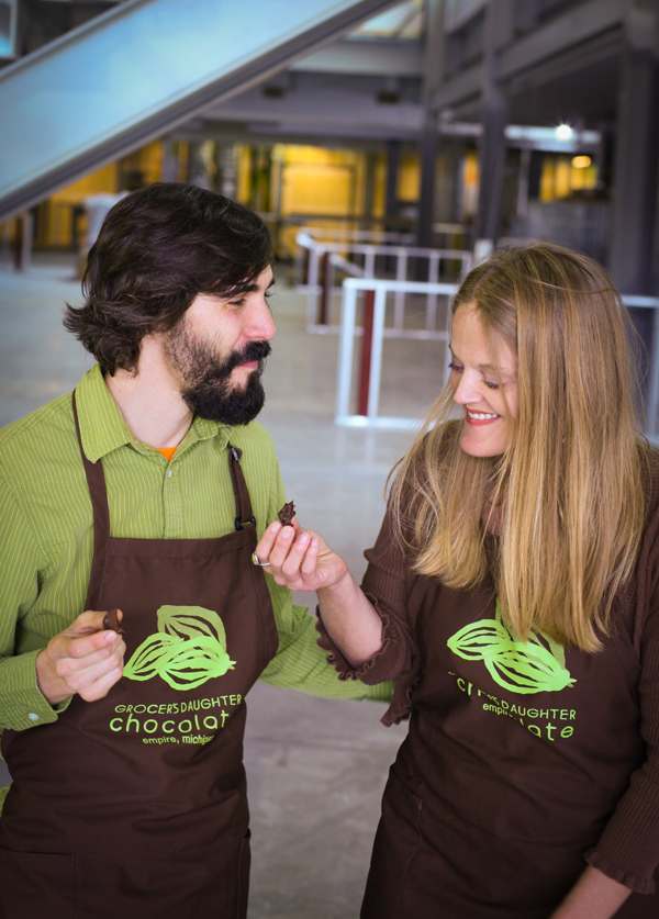 Jody & DC of Grocer's Daughter Chocolates
