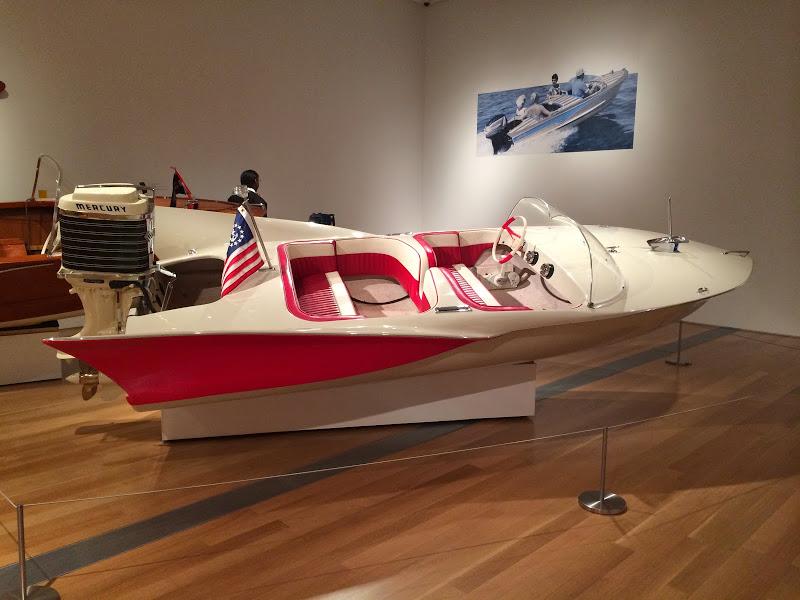 Michigan Modern- boat