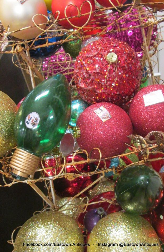 Eastown Antiques vintage ornaments