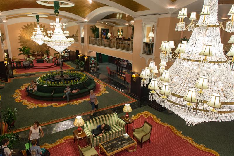 Amway Hotel Lobby photo by Jeff Denapoli